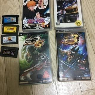 PSP GBAゲームカセット(原則セット売り)