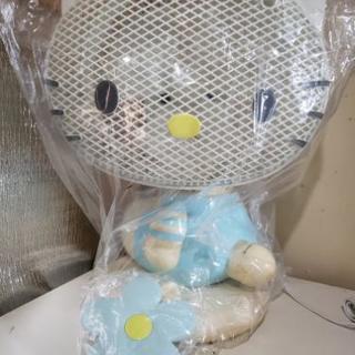 レア物☆新品未使用☆動作確認済み☆キティーちゃん扇風機