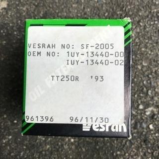 YAMAHA TT250Rのオイルフィルター ヤマハ 990を5...