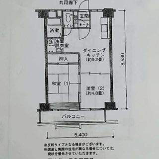 豊島五丁目団地、2DK7万円台!王子駅からbuss8分、