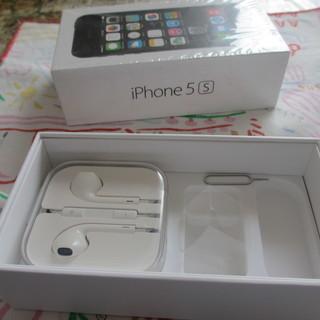 携帯電話 iPhone 5S 付属品 SIM治具に箱
