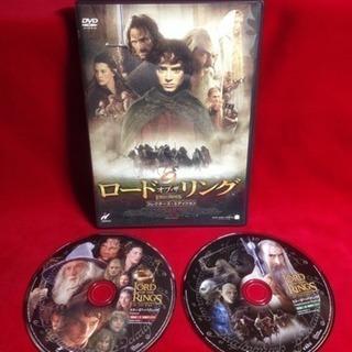 送料込 DVDロードオブザリング2枚コレクター・エディション ア...