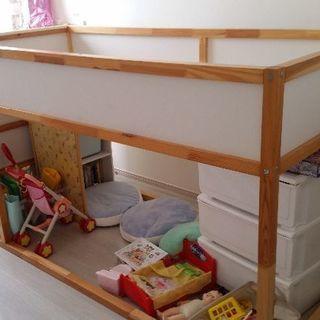 IKEA キューラ ベッド