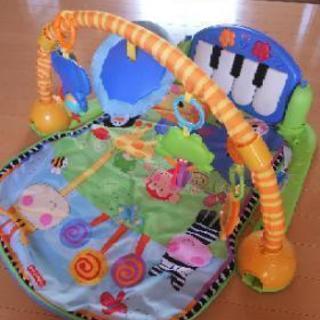 FisherPrice プレイマット ピアノ付き
