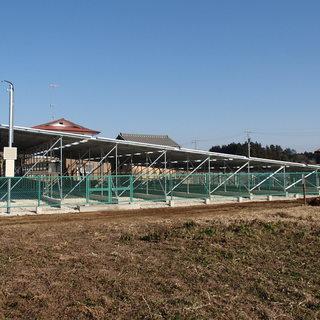太陽光発電10KW  330Wモジュ‐ル×80枚 26400W
