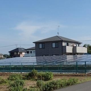 50坪の土地付き太陽光発電10KW  330Wモジュ‐ル80枚 - 八千代市