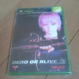 新品 XBOX DEAD OR ALIVE 3 デッド・オア・ア...