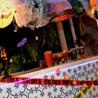 渋谷のど真ん中でハロウィンナイト! カイラ カフェ&テラスダイニン...