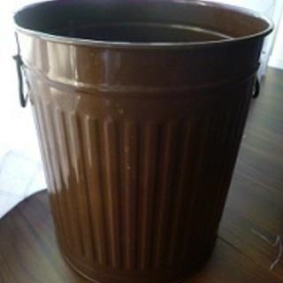 収納ボックス ダストボックス ブリキ缶