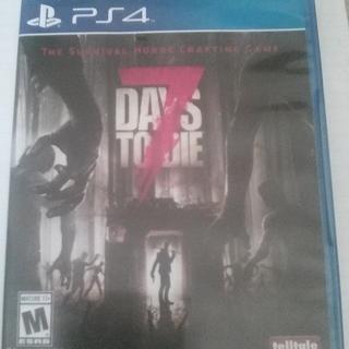 7DAYS TO DIE PS4用 北米版【再出品・値下げしました】