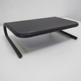 Amazonベーシック 金属モニタースタンド ブラック(GA59)