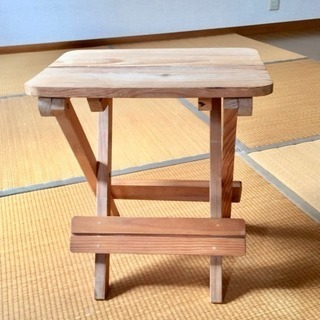 木製 折りたたみ椅子 3脚セット