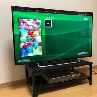 SONY 48インチ 2014年モデル テレビ台とHDDレコーダー一式