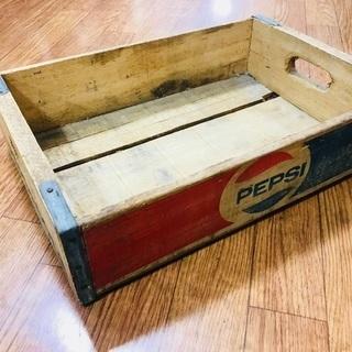 PEPSI ウッドボックス