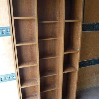 大型 スライド本棚 ラック 大容量 蔵書の整理に