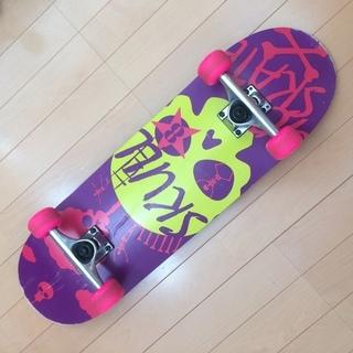 子供用スケートボード 28インチ ピンク