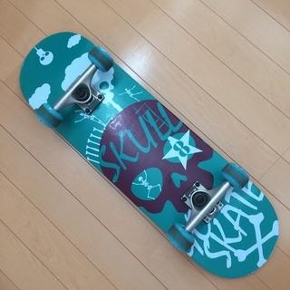 子供用スケートボード 28インチ グリーン