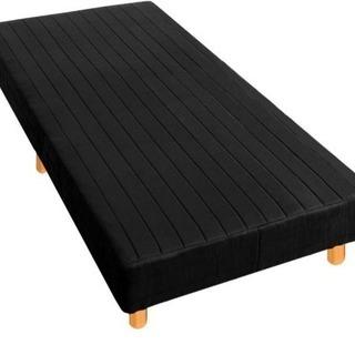 シングルマットレスベッド 黒
