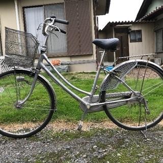 自転車さしあげます。6年使用。