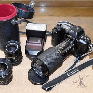 T90 交換レンズ3本(FD 20mm/F2.8含む)