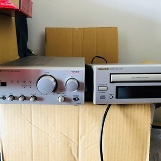 ONKYO スピーカー、サウンドシステム Panasonic DVDプレーヤー - 豊島区