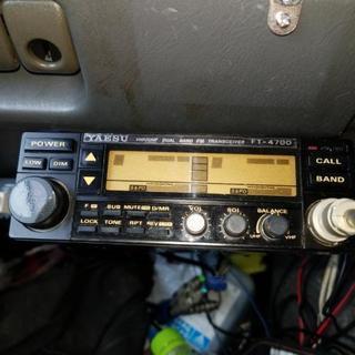 早い者勝ちです、ヤエスFT-4700、2バンドアマチュア無線機