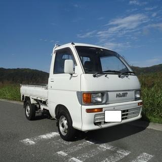 ハイゼットトラックSTD 5MT!4WD!