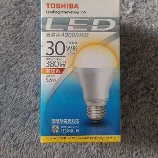 【新品未使用】東芝LED電球