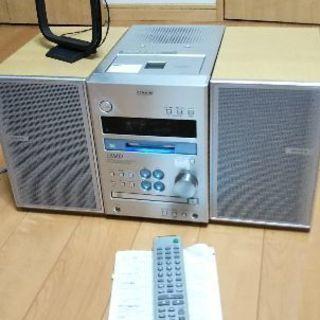 SONY CD/MDミニコンポ