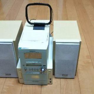 Panasonic CD/MDミニコンポ