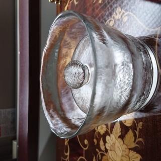 【美品】ガラスのお漬物容器