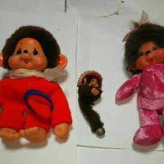 昭和レトロ、モンチッチ人形