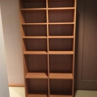 【お値下げ】 本棚 フリーラック 大容量 大きめ カラーボックス ...