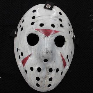海外限定 13日の金曜日 ジェイソン ホッケーマスク 仮装グッズ...