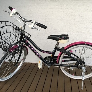 子ども用自転車(女の子用20インチ)