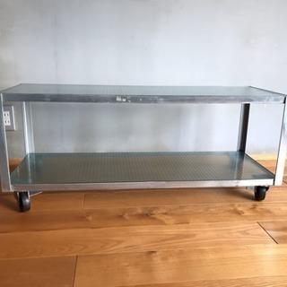 【unico】スチームフレーム x ガラスのテレビ台