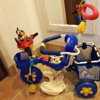 ミッキー三輪車