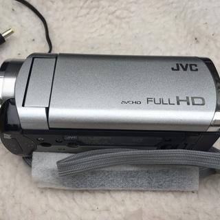 中古品 ビクター 光学40倍ズーム搭載ビデオカメラ メモリームービ...