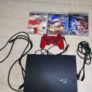 中古品 PS3 本体 ソフト付