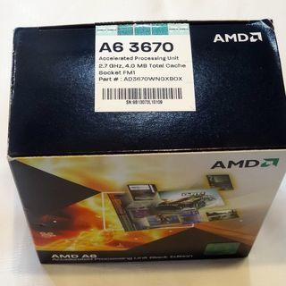 値下★パソコン用CPU AMD A6-3670K BOX AD3...