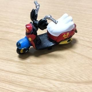 最終値下げ☆ トミカ ミッキーマウスのバイクのオモチャ ☆