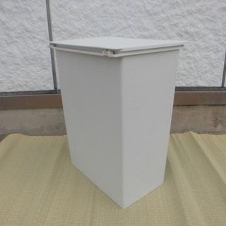 無印良品 ポリプロピレン ダストボックス・フタ付き 約45L・分別...