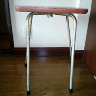 昔のオルガン・キーボードの椅子★訳あり家具