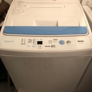 洗濯機6キロ