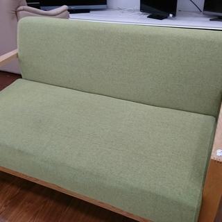 木枠2人掛けソファー