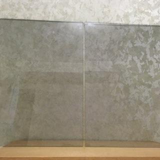 板ガラス 2枚