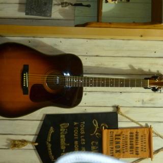 モーリスMD-508アコースティックギターサンバースト