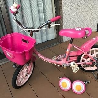 子ども用自転車  14インチ キティーちゃん【取引中】