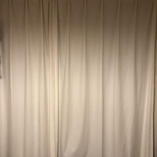 無印良品カーテン 200cm×100cm 2枚セット
