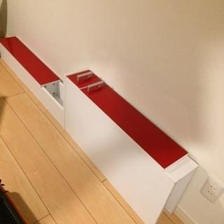 IKEA 風デザイン 隙間 棚 美品♡完成品